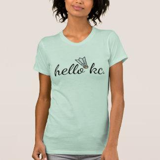 HelloKc Shuttlecock T-Shirt (Light Colors)