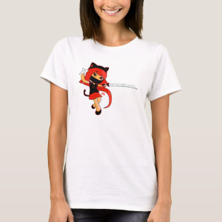 HelloTrilly RedNinja Girl T-Shirt