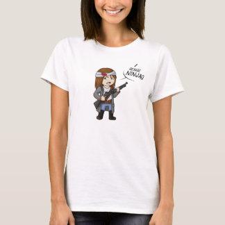 Helloween4545 I sense Ninjas T Shirt Ladies M