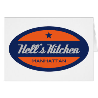 Hell's Kitchen Greeting Card