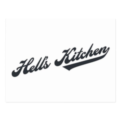 Hell's Kitchen Post Card