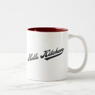 Hell's Kitchen Two-Tone Mug