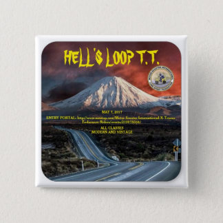 Hell's Loop T.T. Button
