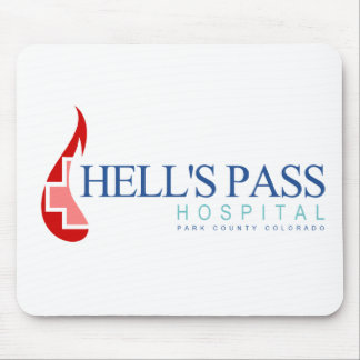 Hell's Pass Hospital, Park County CO Mouse Pad