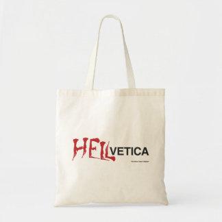Hellvetica - Helvetica's evil twin Tote Bag