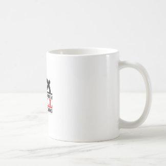 helm hell basic white mug