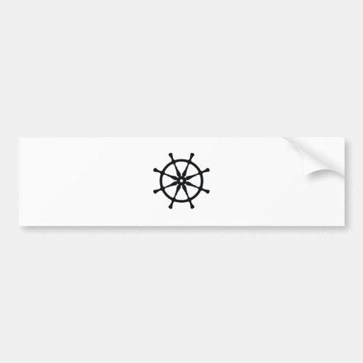 Helm Silhouette Bumper Stickers