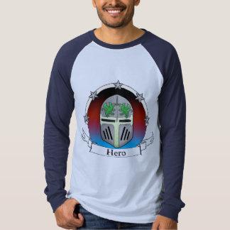 helm star badge t shirt