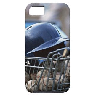 Helmet and Baseball Ball iPhone 5 Case