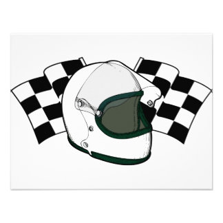 Helmet Flags Invite