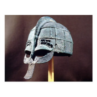 Helmet, from the Vendel Treasure Postcard