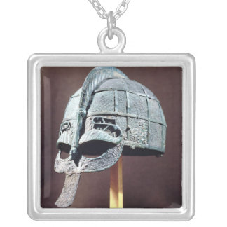 Helmet, from the Vendel Treasure Silver Plated Necklace