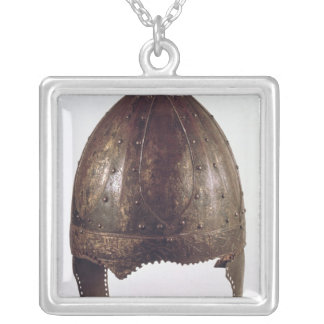 Helmet, from Vezeronce Silver Plated Necklace