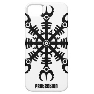 Helmet of awe - Aegishjalmur No.2 (black) Barely There iPhone 5 Case