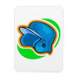 helmet rectangular magnet