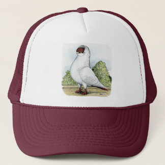 Helmet:  Red Pigeon Trucker Hat