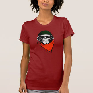 Helmet Skull T-Shirt