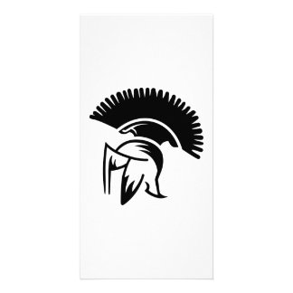 Helmet Sparta Picture Card