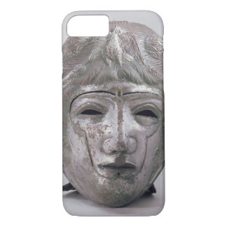 Helmet with Eagle Decoration, Roman (silver) iPhone 8/7 Case