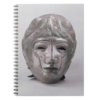 Helmet with Eagle Decoration, Roman (silver) Spiral Note Book