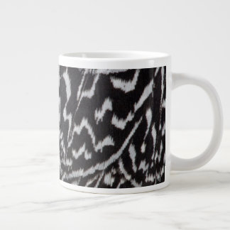 Helmeted Guineafowl Feathers Large Coffee Mug