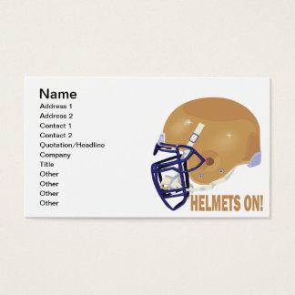 Helmets On Business Card