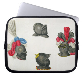 Helmets, plate from 'A History of the Development Laptop Sleeve