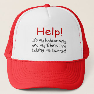 Help! (Bachelor Party) Trucker Hat