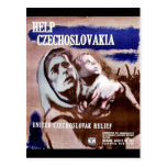 Help Czechoslovakia Postcard