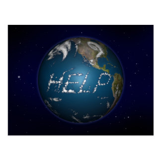 Help Earth Post Cards