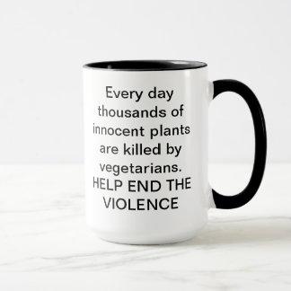 Help End the Violence Mug