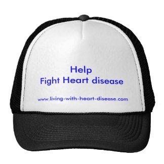 Help                     Fight Heart disease, w... Trucker Hat