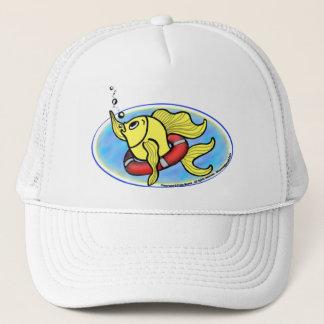 Help Fish Trucker Hat