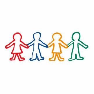 Help for Orphans Sculpture Keychain Photo Cutout