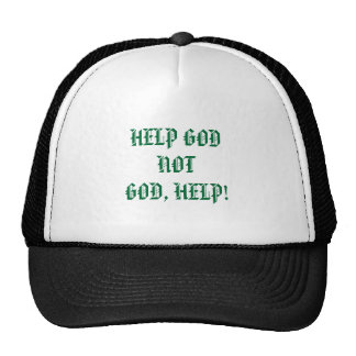 HELP GODNOTGOD, HELP! CAP