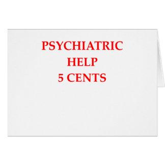 HELP GREETING CARD