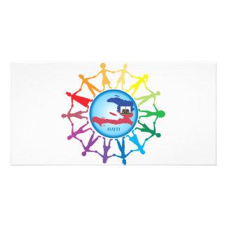 Help Haiti 2 Customized Photo Card
