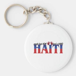 help haiti key ring