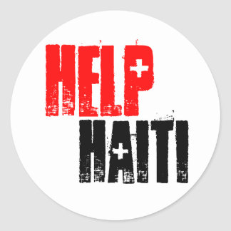 HELP HAITI STICKER