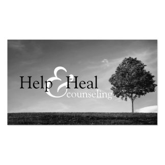 Help Heal Counseling Life Coach Therapy Therapist Pack Of Standard Business Cards