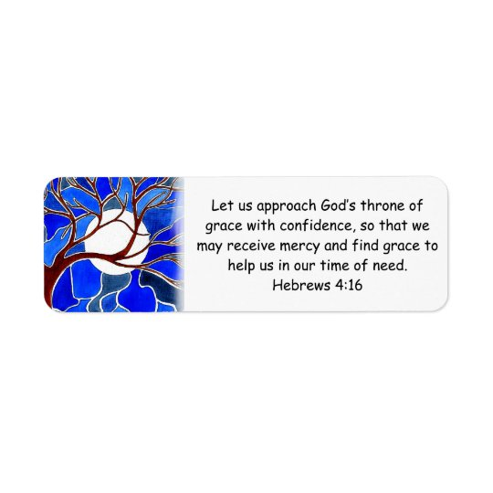 Help in time of need - Hebrews 4:16 - Bible verse
