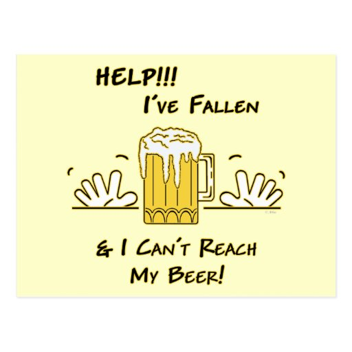 Help I've Fallen Post Cards