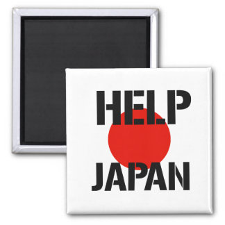 Help Japan - Magnets