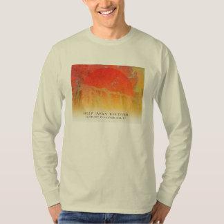 Help Japan Recover - Pines, Maples, Sun -  Shirt