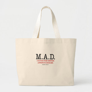 Help Me I Suffer From Meeting Affective Disorder Canvas Bags
