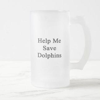 Help Me Save Dolphins Mug