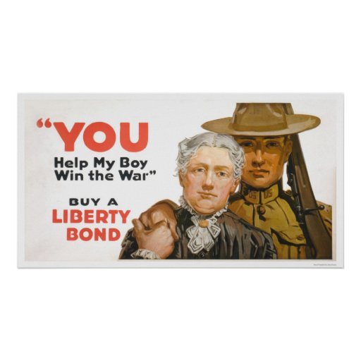 Help my Boy Win the War - Buy a Liberty Bond Posters