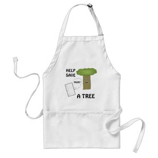 Help save a tree apron