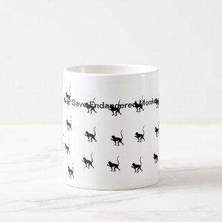 Help Save Endangered Monkeys Coffee Mugs