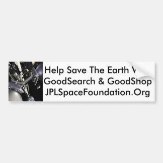 Help Save The Earth Bumper Sticker
